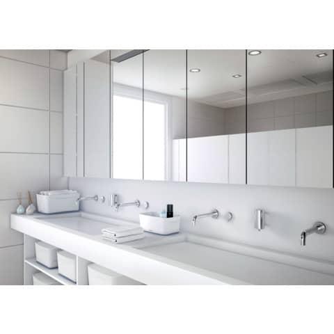 Ablagebox MyBox klein A5 weiß/grau LEITZ 5229-10-01 5 Liter Produktbild Produktabbildung aufbereitet XL