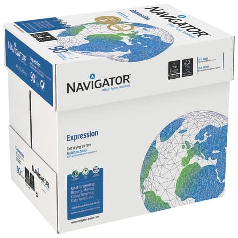 Kopierpapier A4 90g 500Bl weiß NAVIGATOR Expression 82427A90S Produktbild Einzelbild 3 XL