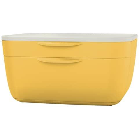 Schubladenbox Cosy 2 Laden gelb/hellgrau LEITZ 5357-00-19 Produktbild Einzelbild 9 XL