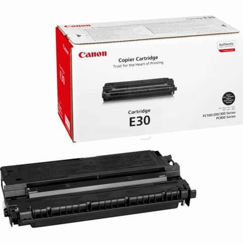 Kopierertoner E-30 schwarz CANON 1491A003 Produktbild