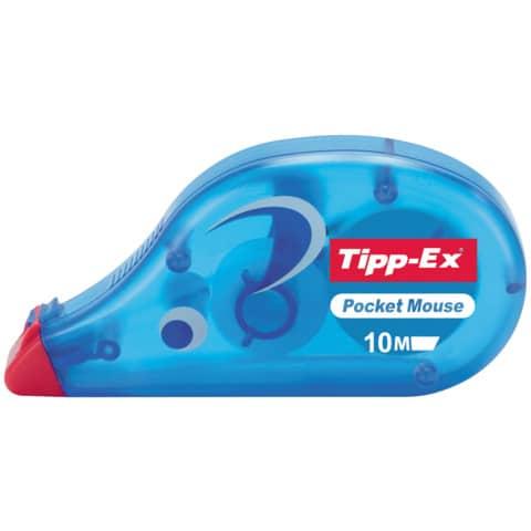 Korrekturroller Maus Pocket 4,2mm 10m TIPP EX 8221362/8221361 eingeschweißt Produktbild Einzelbild 8 XL