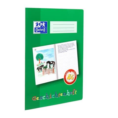 Schreiblernheft A4 16Bl Lin.4G OXFORD 100050098 Geschichte Produktbild
