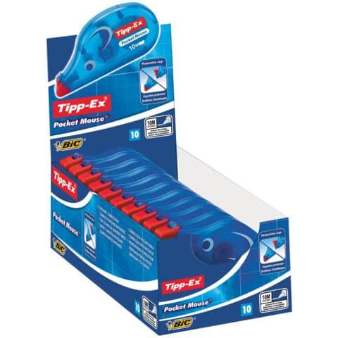 Korrekturroller Maus Pocket 4,2mm 10m TIPP EX 8221362/8221361 eingeschweißt Produktbild Einzelbild 6 XL