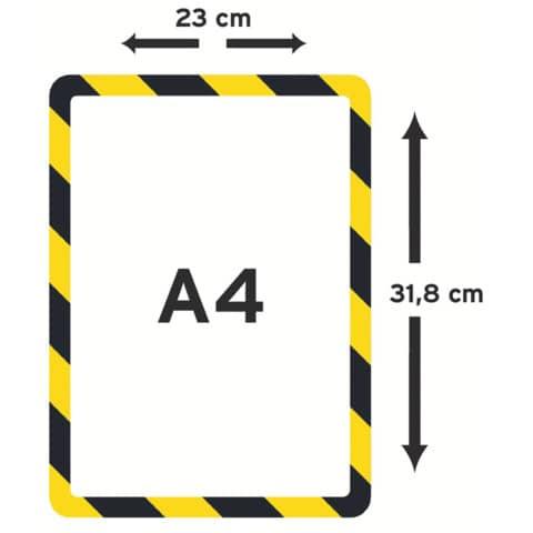 Präsentation Hülle 2ST ge/schw TARIFOLD TA194974 A4 Produktbild Einzelbild 3 XL