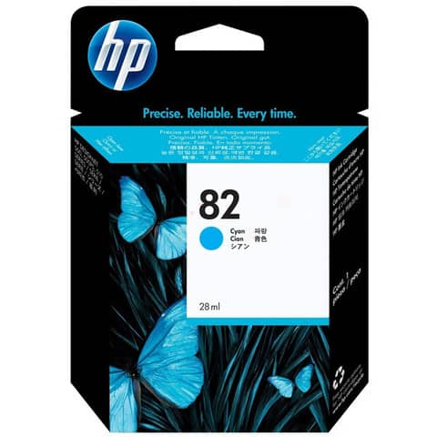 Inkjetpatrone Nr. 82 cyan HP C4911A 69ml Produktbild