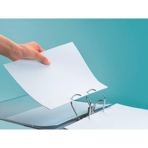 Ordner Pappe A4 8cm rot LEITZ 1080-50-25 Produktbild Anwendungsdarstellung 1 XL