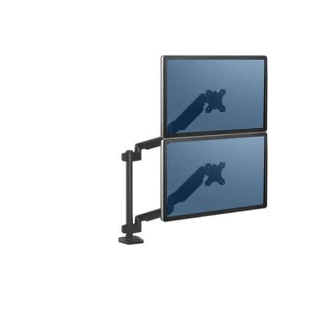Bildschirmträger Doppelarm schwarz FELLOWES FW8043401 Produktbild