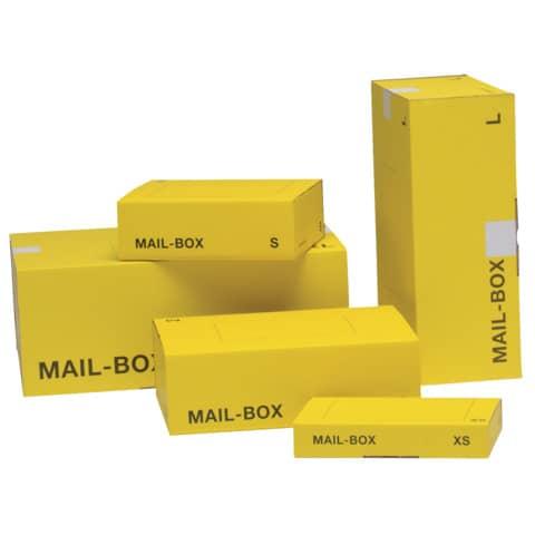 Versandkarton M gelb 821400100080/821497226920 Produktbild Stammartikelabbildung 2 XL