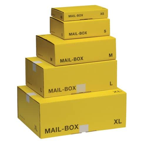 Versandkarton M gelb 821400100080/821497226920 Produktbild Stammartikelabbildung 3 XL
