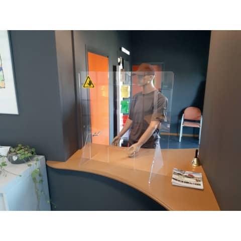 Tröpfchenschutzscheibe transparent JALEMA 7999801 750x800x3mm Produktbild Anwendungsdarstellung 1 XL