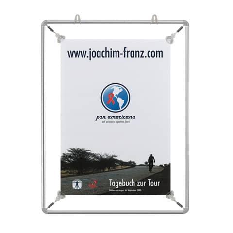Spannrahmen Alu A2 silber FRANKEN BS1103 Produktbild Einzelbild 1 XL