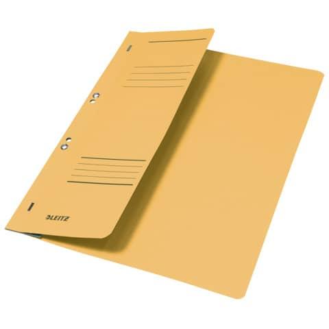 Ösenhefter A4 gelb LEITZ 37400015 halber Deckel Produktbild Einzelbild 2 XL