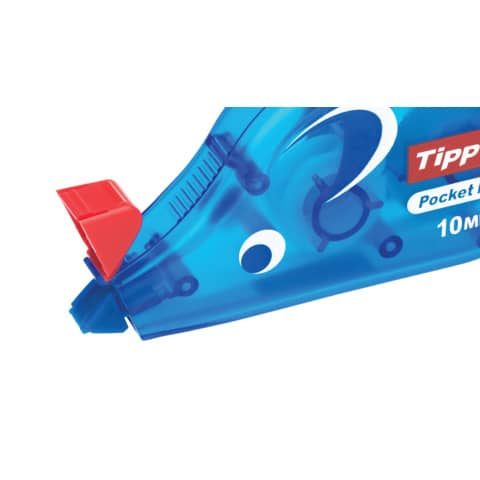 Korrekturroller Maus Pocket 4,2mm 10m TIPP EX 8221362/8221361 eingeschweißt Produktbild Detaildarstellung XL