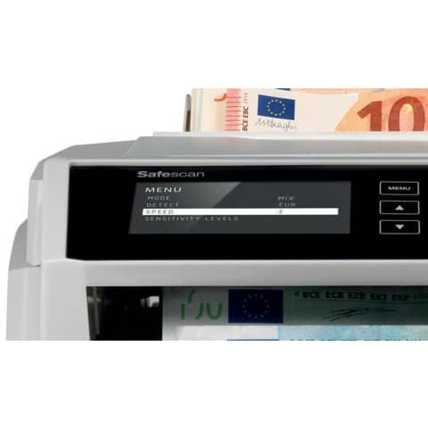 Banknotenzählgerät 2465-s SAFESCAN 112-0540 Produktbild Detaildarstellung XL
