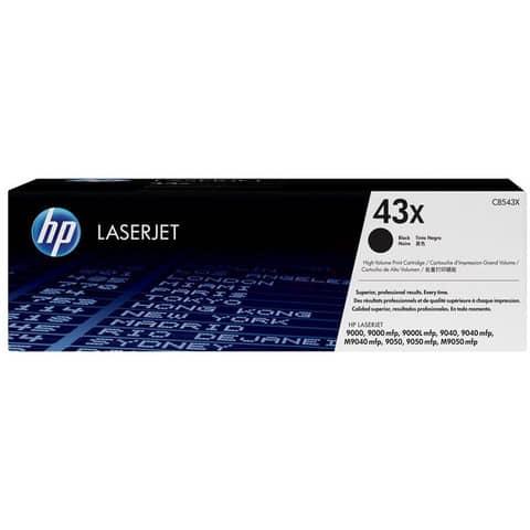 Lasertoner Nr. 43X schwarz HP C8543X Produktbild