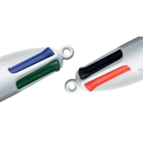 Vierfarbkugelschreiber BIC 889969 4Colours Produktbild Detaildarstellung 6 XL