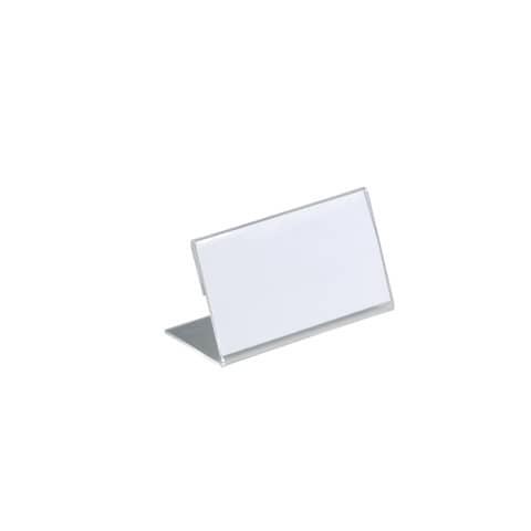 Tischschild 10ST transparent DURABLE 8055 19 54x100mm Produktbild