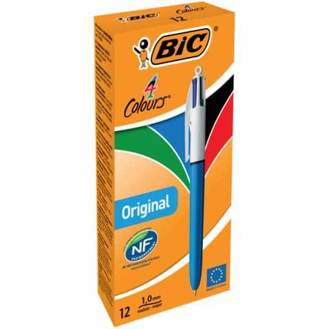 Vierfarbkugelschreiber BIC 889969 4Colours Produktbild Einzelbild 4 XL