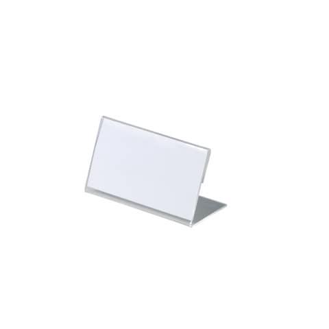 Tischschild 10ST transparent DURABLE 8055 19 54x100mm Produktbild Einzelbild 2 XL