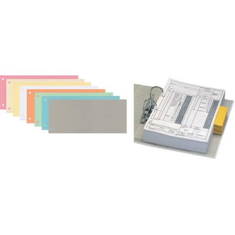 Trennstreifen 10,5x24cm 100ST rosa Q-CONNECT KF00517 /505-03 Produktbild Stammartikelabbildung XL