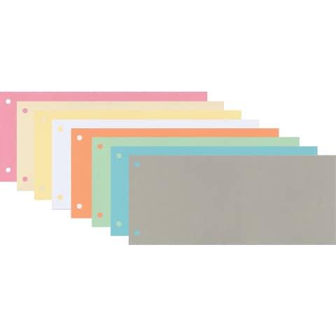 Trennstreifen 10,5x24cm 100ST rosa Q-CONNECT KF00517 /505-03 Produktbild Stammartikelabbildung 2 XL