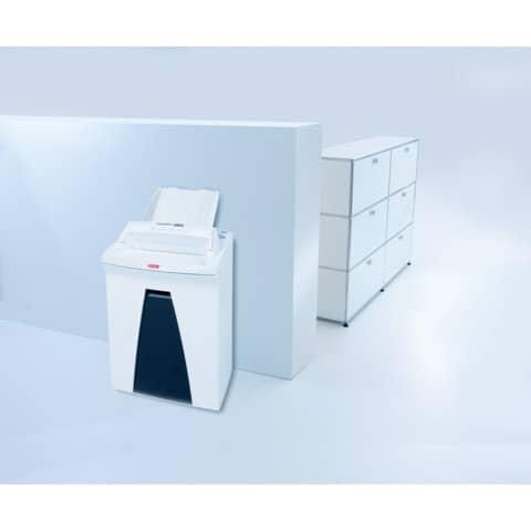 Aktenvernichter Securio AF150 weiß HSM 2083111 Partikel 4,5x30mm Produktbild Anwendungsdarstellung 3 XL