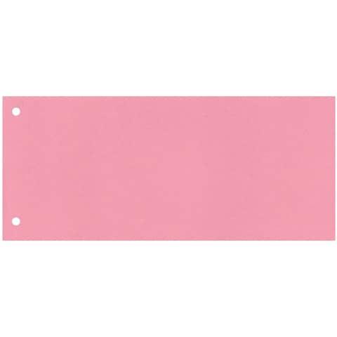 Trennstreifen 10,5x24cm 100ST rosa Q-CONNECT KF00517 /505-03 Produktbild