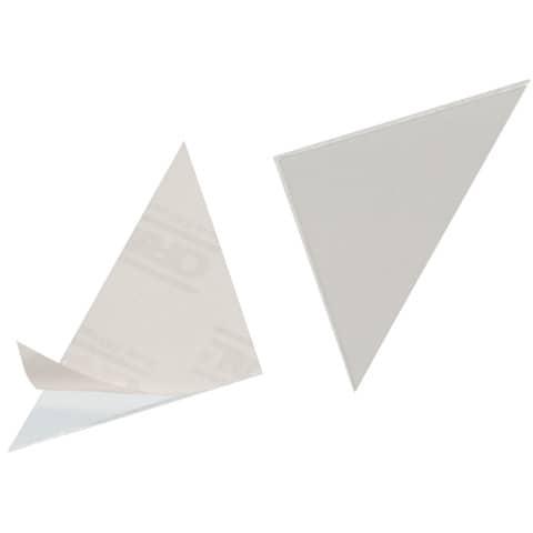 Dreiecktasche 75mm selbstklebend klar DURABLE 8081 19, 8 Stück Produktbild
