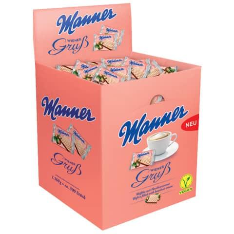 Waffeln 300ST je 4,2g MANNER 70102019 WienerGruß Produktbild