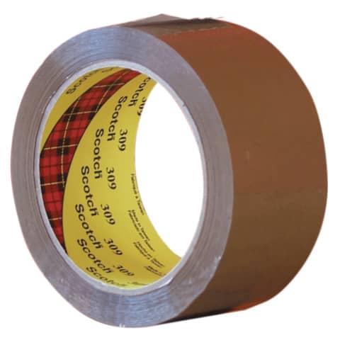 Verpackungsband 50mm 66m braun SCOTCH 309B5066 PP Produktbild Einzelbild 2 XL