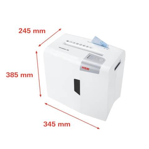 Aktenvernichter Shredstar X8 ws/si HSM 1044121 4x35mm Produktbild Detaildarstellung 6 XL