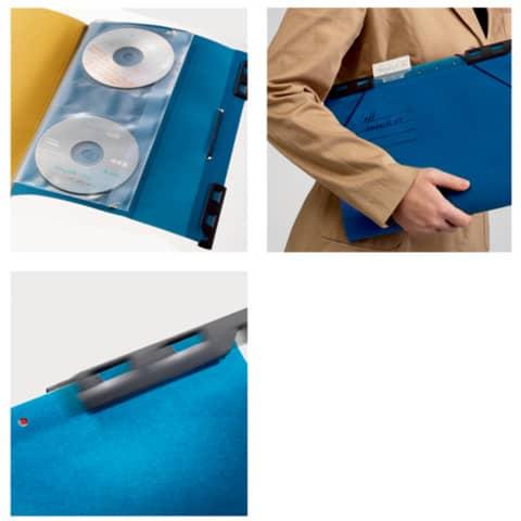 Hänge-Ordnungsmappe 6Fä. blau LEITZ 1890-00-35 Divide it Up Produktbild Anwendungsdarstellung XL