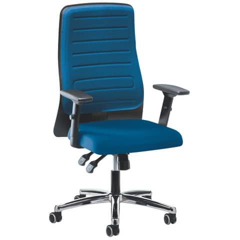 Drehstuhl mit AL m.blau PROSEDIA 30024445 Eccon plus Produktbild
