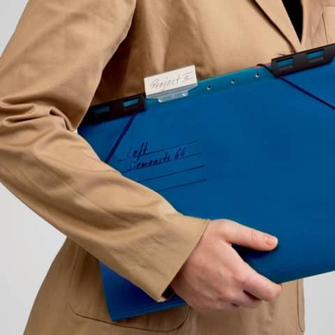 Hänge-Ordnungsmappe 6Fä. blau LEITZ 1890-00-35 Divide it Up Produktbild Detaildarstellung 2 XL