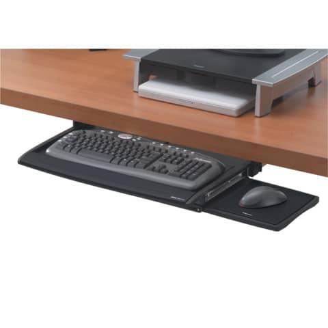 Tastaturschublade mit Mausablage FELLOWES FW8031201 Produktbild