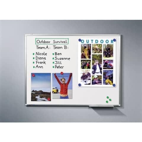 Whiteboardtafel weiß 150x100 cm LEGAMASTER 7-101063 Premium Plus Produktbild Einzelbild 7 XL