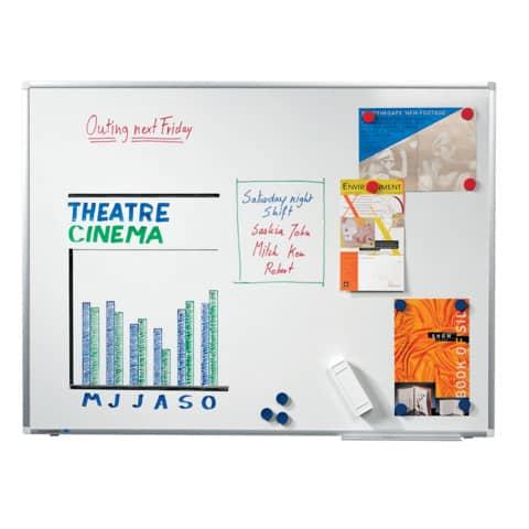 Whiteboardtafel weiß 150x100 cm LEGAMASTER 7-101063 Premium Plus Produktbild Einzelbild 6 XL