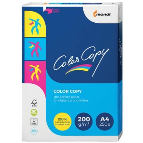 Kopierpapier A4 200g weiß COLOR COPY 88008638  250Bl Produktbild Einzelbild 2 XL