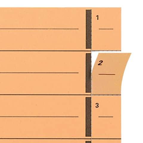 Trennblatt A4 gelb ELBA 400004666 100ST Produktbild Anwendungsdarstellung XL