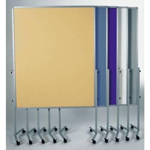 Moderationstafel blaugrau 120x150 cm LEGAMASTER 7-2042 00 Filzbezug Produktbild Stammartikelabbildung XL