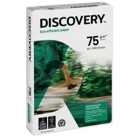 Kopierpapier 500BL weiß DISCOVERY 83427A75S A4 75 g Produktbild Einzelbild 2 XL