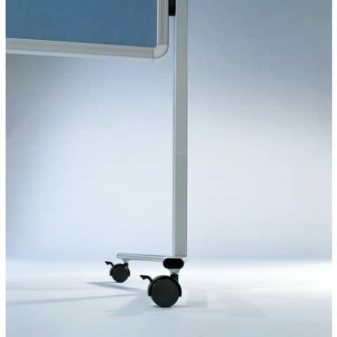 Moderationstafel blaugrau 120x150 cm LEGAMASTER 7-2042 00 Filzbezug Produktbild Einzelbild 1 XL