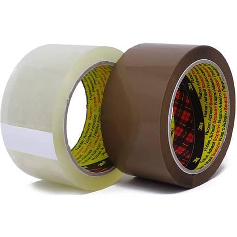Verpackungsband 50mm 66m braun SCOTCH 305B5066 PP Produktbild Stammartikelabbildung XL