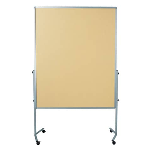 Moderationstafel beige 120x150 cm LEGAMASTER 7-204100 Filzbezug Produktbild