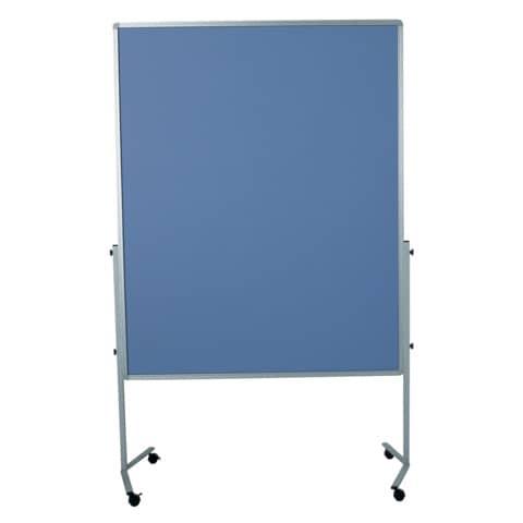 Moderationstafel blaugrau 120x150 cm LEGAMASTER 7-2042 00 Filzbezug Produktbild Einzelbild 2 XL