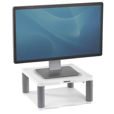 Bildschirmträger grau FELLOWES FE91717 70 Produktbild Anwendungsdarstellung XL