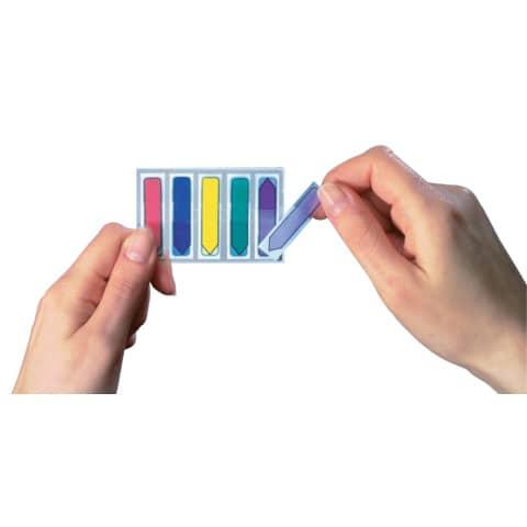 Index Pfeil 12x43 farbig sortiert POST IT 684 ARR1 5x20 Stück Produktbild Anwendungsdarstellung 2 XL