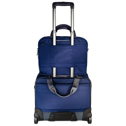 Trolley Complete titan blau LEITZ 6059-00-69 Handgepäck Produktbild Anwendungsdarstellung 1 XL