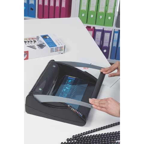 Spiralbindegerät Plastikb. sw. GBC 4401845 C200 Produktbild Anwendungsdarstellung 6 XL