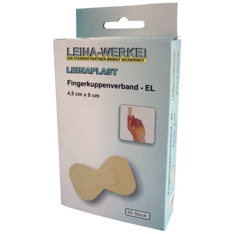 Fingerling 4,5x8cm 50 Stück LEINA-WERKE 72202 elastisch Produktbild